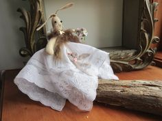 Easter  Bunny  , Rabbit , Shabby Chic Easter Bunny  -  Easter  Decoration.