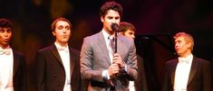 Became an honorary member of the Yale Whiffenpoofs | Community Post: 15 Times Darren Criss OWNED 2013