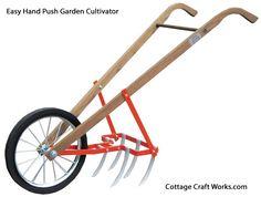 Easy Hand Push Garden Cultivator - American Garden Tools - Garden/Orchard/Farming - Farm & Garden