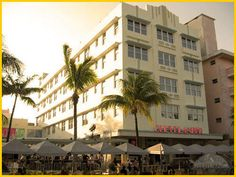 Daytime view of Clevlander night club in South Beach Florida that I salsa danced my arse off at...and other club dancing at the other night clubs along the strip.