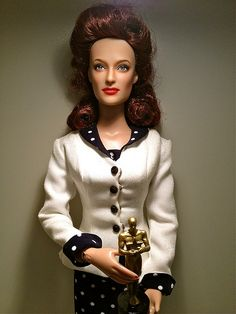 Mildred Pierce doll repaint by JustCreations