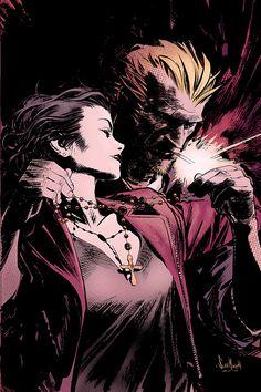 Hellblazer: City of Demons #3 cover by Sean Murphy
