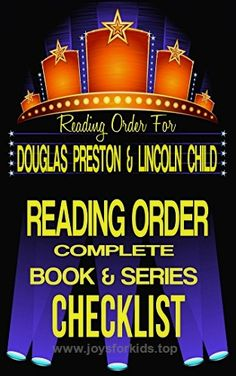 DOUGLAS PRESTON & LINCOLN CHILD: SERIES READING ORDER & INDIVIDUAL BOOK CHECKLIST: SERIES LISTINGS INCLUDE: PENDERGAST SERIES, DR. JEREMY LOGAN, WYMAN … Reading Order & Checklist Series 11)  BUY NOW         NOTE: This is a Checklist! We hope you enjoy The Books of Douglas Preston & Lincoln Child.   Part of the Greatest Authors Reading O ..