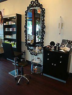 Functional Hair Salon Design of Salon Glam-3  Home Furniture Interior Design Idea Architecture