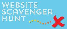 Teen Tech Week: Website Scavenger Hunt [good questions for inspiration]