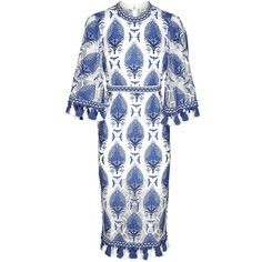 Memphis Dress Blue by Alice McCall