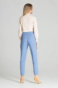 Shirt model 141749 Figl – Blushgreece.shop Harem Pants, Mom Jeans, Long Sleeve Shirts, Spandex, Suits, Model, Fashion, Moda, Harem Trousers
