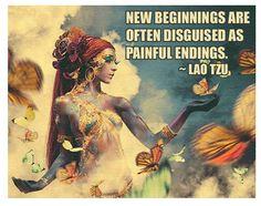 New beginnings-Lao Tzu