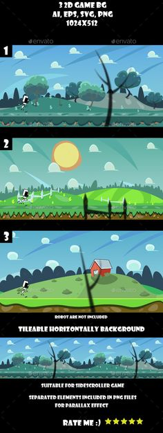 Buy 3 game background by AurJas on GraphicRiver. 3 Game Backgrounds You can use this background for your game application/project. The background is vector, You. Game Design, Layout Design, Pixel Art Games, Game Background, Game Assets, Free Games, Typography Design, Game Art, 2d