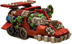 Looted Land Speeder, 40k, Orks, Kustom