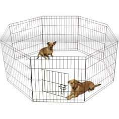 $50 Oxgord Metal 8-panel Pet Exercise Pen - Overstock™ Shopping - The Best Prices on Oxgord Kennels & Pens
