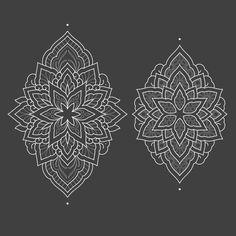 "prada-tattoo: "" Available ornaments. Contact: pradadotwork@gmail.com HUMANFLY TATTOO STUDIO (MADRID/ES) #mandala #tattoo #geometry #ornamentaltattoo #ornaments #blackink #dotwork #dotworktattoos #dotworktattoo """