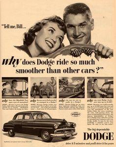 Vintage Dodge Ad 1951