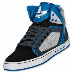 Men's adidas Originals adiHigh EXT Casual Shoes| FinishLine.com | Black/Light Onyx/Craft Blue