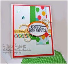 Crafty and Creative Ideas: DOstamper STARS Thursday Challenge #133: Big Day Birthday Card