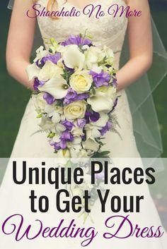 Unique Places to Get Your Wedding Dress