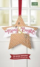 Merry & Bright. . . Holiday Catalog Supplement . . . sales period begins on October 20th. . . all products while supplies last!  Get yours today!  www.georgia.stampinup.net