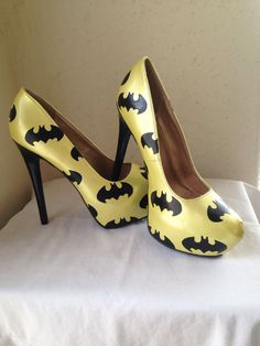 Hey, I found this really awesome Etsy listing at https://www.etsy.com/listing/219559268/batman-high-heels
