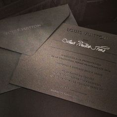 Louis Vuitton invites you to the presentation of the Women's Spring/Summer 2014 Fashion Show this Wendesday, October 2nd