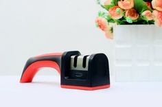 The suitable knife sharpener for the kitchen is the one that is of a reasonable price, is easy to handle, performs well and the most important thing is that it should be found on online shopping sites like Amazon, eBay etc. for those people who can't afford to go the market and are too busy with their work.