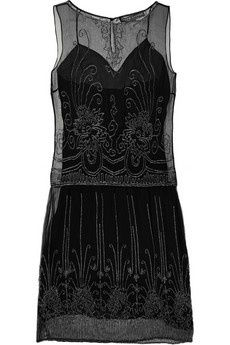 I love this Ralph Lauren Collection Abigail beaded silk-chiffon dress (via Shop It To Me)