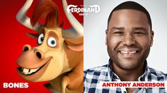 Check out the voice cast and the main characters of Ferdinand, the upcoming CG animated movie produced by Blue Sky Studios and Century Fox Animation, based on the children's book The Story of Ferdinand by Munro Leaf: Ferdinand Movie, The Story Of Ferdinand, Ferdinand The Bulls, Cartoon Movies, Disney Movies, Disney Pixar, Cartoon Characters, Pencil Test, Blue Sky Studios