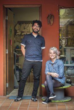 Luan Carfran e Bruna Andrade. Foto: Fernando Zequinão.