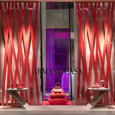 "ARMANI CASA BOUTIQUE, Milan, Italy, ""Interior Dress Up"", by Giorgio Armani, pinned by Ton van der Veer"