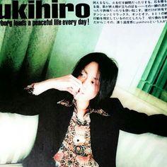 yukihiro L'Arc~en~Ciel B-PASS 2000/5