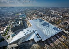 Rotterdam Centraal station reopens after renovation by Benthem Crouwel
