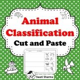 Animal Classification Cut and Paste Worksheets, No Prep, Distance Learning Cut And Paste Worksheets, Printable Worksheets, Animal Classification Worksheet, Animal Activities, Activity Sheets, Classroom Displays, Amphibians, Teacher Resources, Kindergarten