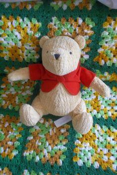 b1fc6e9627d Vintage Plush Bear Winnie The Pooh Disney 1995 Marks And Spencer by  cherlove2 on Etsy Vintage