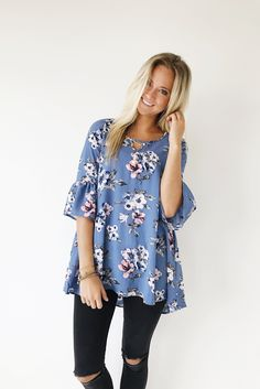 Like the flowy top