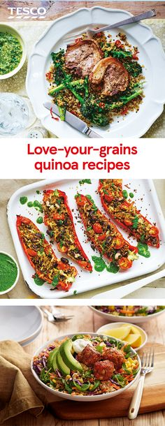 A hugely versatile grain, quinoa has a distinctive nutty flavour and a crunchy texture. It's delicious in salads, added to porridge and even as a crunchy breadcrumb-style coating for meat or fish. Give it a try with one of our delicious quinoa recipes.   Tesco