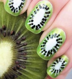 Manucure kiwi