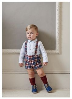 La Coqueta is a Spanish children's designer clothing boutique in London that offers high quality Spanish baby clothes. Cute Boy Outfits, Toddler Outfits, Kids Outfits, Spanish Baby Clothes, Cute Baby Clothes, Toddler Boy Fashion, Kids Fashion, Pinterest Baby, Baby Dungarees