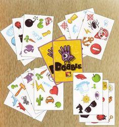 «Dobble» — распечатай и играй - Настольные игры: Nастольный Blog - Всё о настольных играх на русском языке Teaching Spanish, Teaching English, Learn English, Toddler Activities, Sunday School, Kids And Parenting, Board Games, Playing Cards, Learning