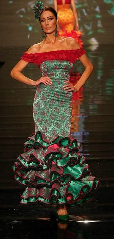 8293a675b13b Spanish Dress, Spanish Dancer, Spanish Style, Flamenco Costume,