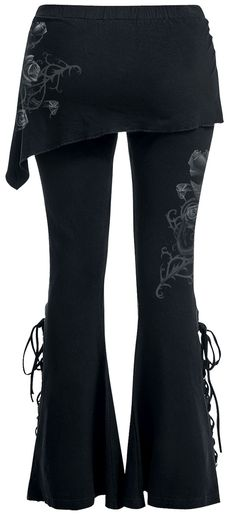 9374777a38 Fatal Attraction 2in1 Boot Cut Leggings With Micro Slant Skirt