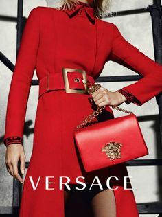 Karlie Kloss, Caroline Trentini, and Lexi Boling for Versace Fall ...