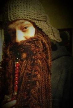 Dwarf Beard inspired by The Hobbit by gotcrochet on Etsy