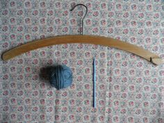 How to make a crochet coat hanger cover - Mollie Makes