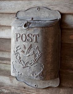 Details about Vintage Shabby Cottage Style Metal Bird Mailbox Letter Wall Mount French Postbox, French Country Farmhouse, French Cottage, French Country Style, Shabby Cottage, Vintage Farmhouse, Cottage Style, Urban Farmhouse, Cottage Chic, Vintage Mailbox