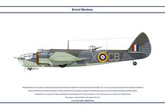 The Bristol Blenheim was conceived as a high speed passenger aircraft, but became a light bomber and entered service with the RAF in 1937.  It was very successful and several countries bought ...