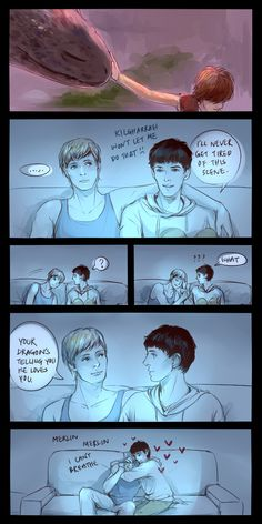 I ship Merthur now.  Merthur is cool.  BUT IT'S SOOOOO CUTE!!!!!!!!!!!!!!! SQUEE