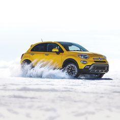 You won't be afraid to show the snow who's boss. #500X  # #FIAT #FIATUSA #Ciaobaby #FIATlove #500Love #FIATfamily #Italian #CarPorn #CarsWithoutLimits #ItalianStyle #ItalianCar #crossover #cars #auto #car #automotive #drive #autos #instacar #caroftheday #cargram #style #AWD #snow #boss by fiatusa
