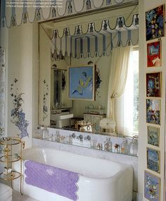 Wallis Simpson's bath, Bathroom, Lavender