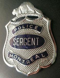 MPD Badges, Montreal, Police, Badge, Law Enforcement