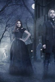"Good witch Katrina Crane and her husband Ichabod Crane in ""Sleepy Hollow"" TV Series (2013)."