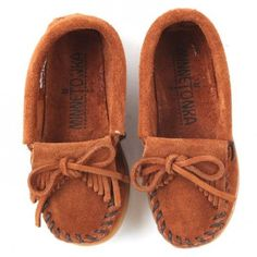Baby Minnetonka aww omg mine will definitely have to have to match mommy :) <3